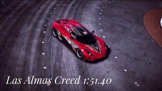 Need for Speed™ Payback Las Almas Creed 1:51.40 [ Regera ]