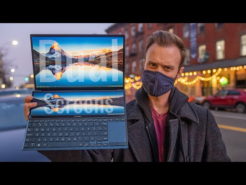 ASUS Zenbook Duo 2021 Real-World Test (Performance, Battery Test, & Vlog)