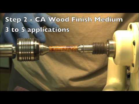 Stick Fast CA Wood Finish System
