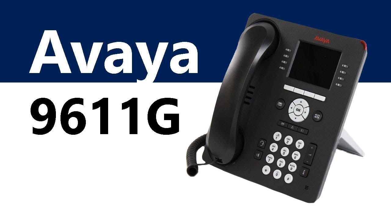 Avaya 9611G Global IP Phone - 4 Pack (700510904)