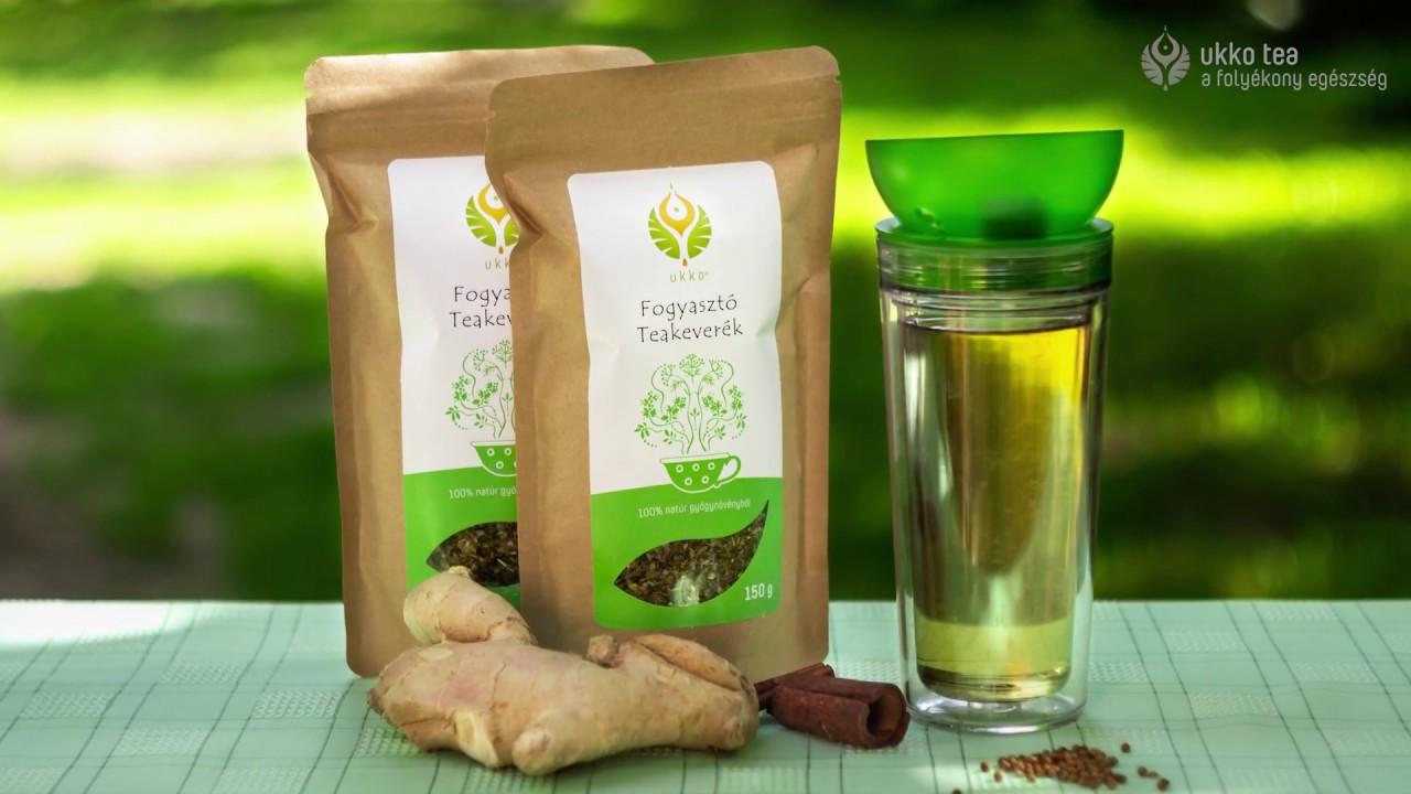 fogyókúrás gyógynövény teák