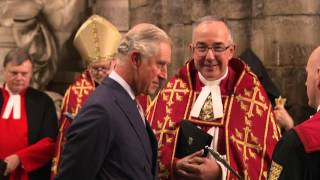 Special Service at Westminster Abbey