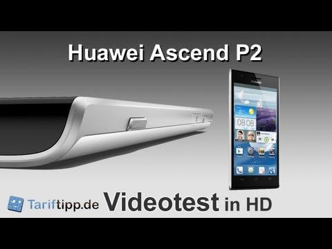 Huawei Ascend P2 | Test in HD (deutsch)