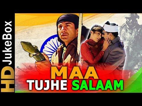 Maa Tujhhe Salaam (2002) | Full Video Songs Jukebox | Sunny Deol, Arbaaz Khan, Tabu