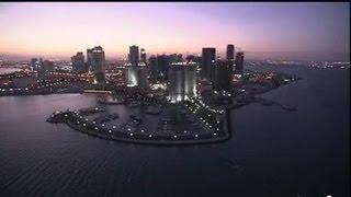 Qatar : Doha by night