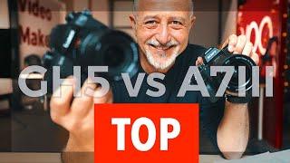 panasonic gh5 vs sony A7III BATTAGLIA REALE 2019
