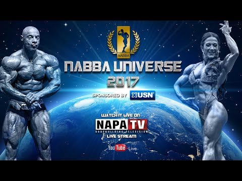 NABBA MR & MISS UNIVERSE 2017 | BODYBUILDING | LIVE STREAM FROM BIRMINGHAM