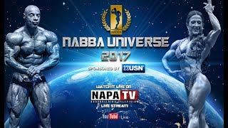 NABBA MR & MISS UNIVERSE 2017 | BODYBUILDING | LIVE STREAM FROM BIRMINGHAM