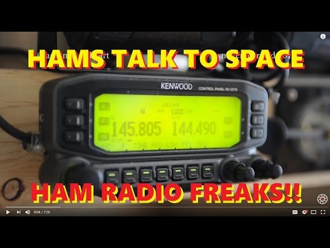 HAM RADIO: Contact with Astronaut in OUTER SPACE!