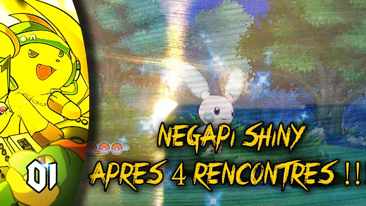 Pokemon Rosa Navi Dex Négapi Shiny En Seulement 4 Rencontres
