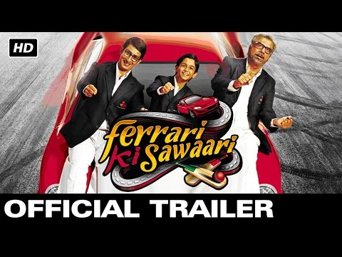 Ferrari Ki Sawaari | Official Theatrical Trailer | Sharman Joshi, Boman Irani Mp3