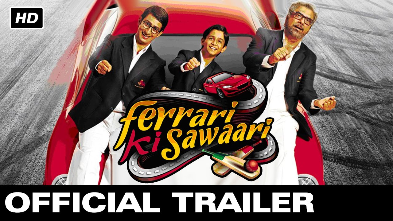 ferrari ki sawaari | official theatrical trailer | sharman joshi