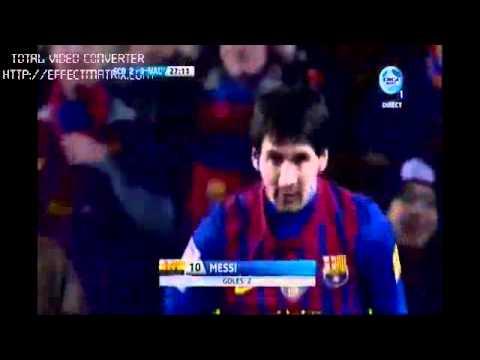 Barcelona Vs Valencia 5-1 Las Mejores Jugada Y Todos Los Goles 19-2-2012