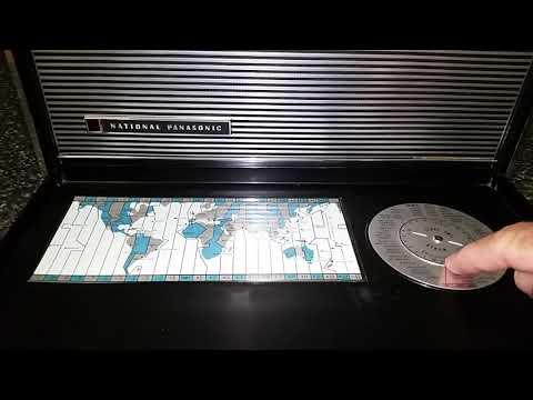 The National Panasonic R-3000 Shortwave Radio