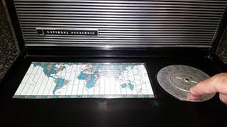 Національний Панасонік Р-3000 Короткохвильове Радіо