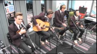 McFly perform Love Is Easy on BBC Radio 5