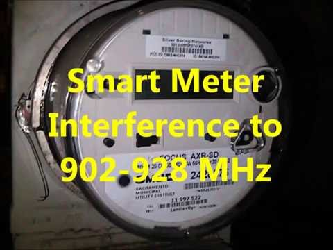 Smart Meter Interference to 902-928 MHz