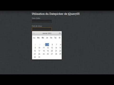 Datetimepicker using jquery ui