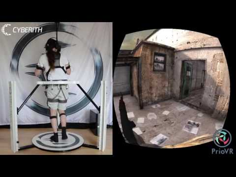 Cyberith Virtualizer + YEI Technology PrioVR + Oculus Rift Holy Grail of VR