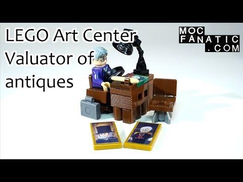 LEGO Art Center Valuator of antiques