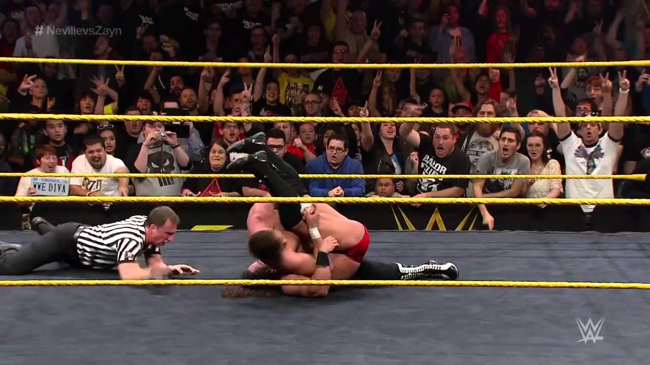 Adrian Neville vs. Sami Zayn - NXT Championship Match: NXT TakeOver: R Evolution, Dec. 11, 2014