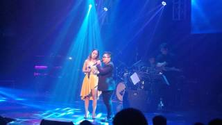 Jonalyn Viray and Aiza Seguerra at Journey Into My Heart Concert