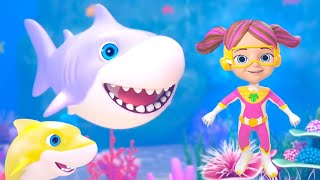 Baby Shark | Little Tritans | Shark Song | Rhymes for Nursery & Songs for Kids by Little Treehouse