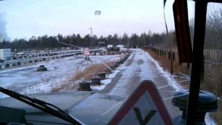 Вождение Урал 4320