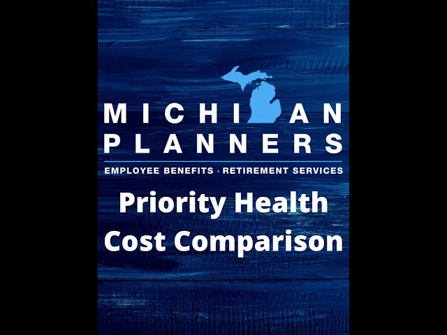 Priority Health Cost Comparison