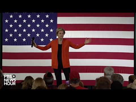 WATCH: Elizabeth Warren holds town hall in Grinnell, Iowa
