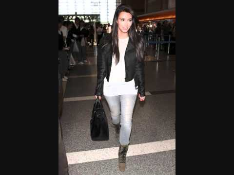 Kim Kardashian New Style (After The Kanye West Makeover)