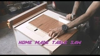 Home Made Table Saw-part 2