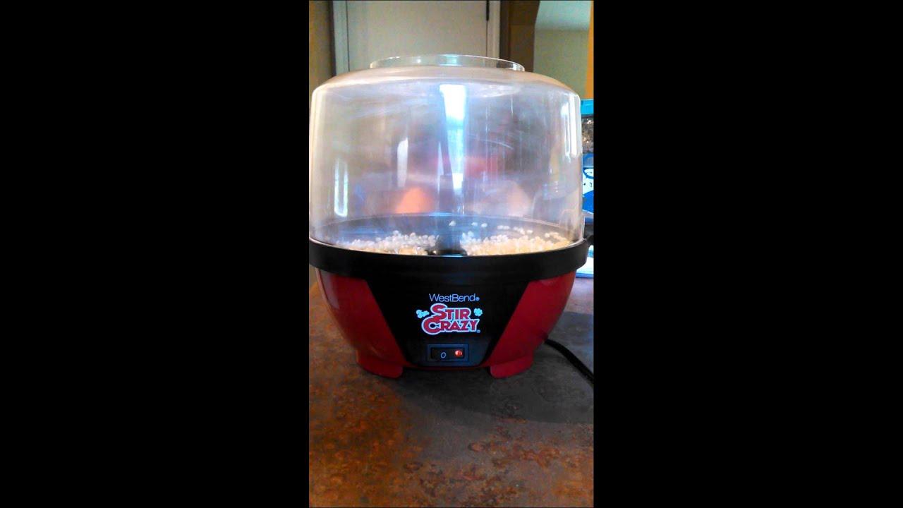 Stir Crazy Popcorn Popper4 Youtube