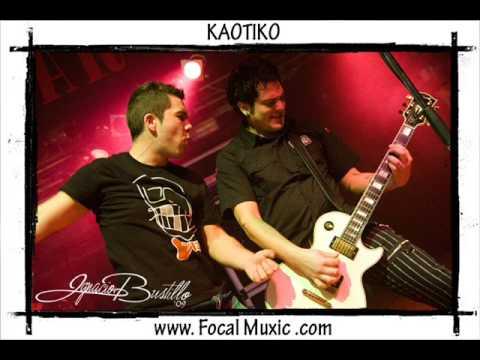 KAOTIKO - Rico Deprimido  letra  ( EGR )