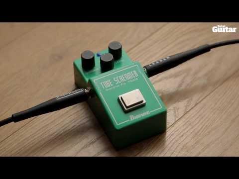 Guitar Pedal Shootout  - Ibanez Tubescreamer TS-808 vs Mooer Green Mile (TG251)