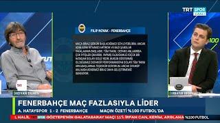 Rıdvan Dilmen ve Erbatur Ergenekon ile %100 Futbol | Hatayspor-Fenerbahçe | Maç Sonu Yorumları