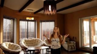 Натяжные потолки - Готовые решения: гостиная(Наша клиентка рассказывает о компании