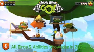 Angry Birds Go! In 2020 I All Birds & Abilities Showcase In Under 3 Minutes