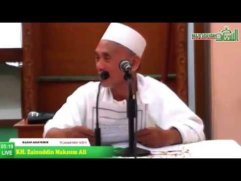Kajian Ahad Subuh Masjid Jami Assa'adah | Optimis - KH. Zainuddin Maksum Ali