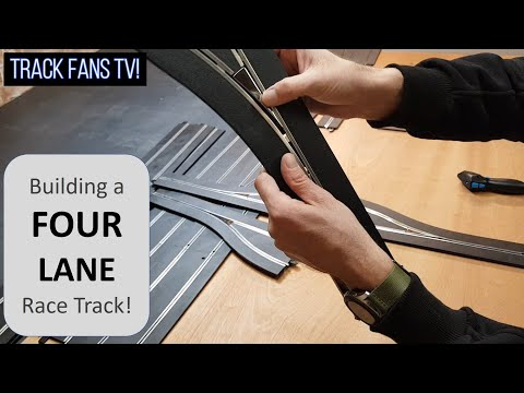 Top Tip 13 – Building a FOUR Lane Scalextric Track