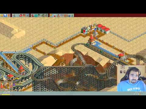 "Roller Coaster Tycoon: Deluxe w/ TheKingNappy - Ep 12 ""RCT Freestyle"""