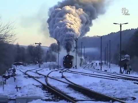 traumhafte winter dampflok ausfahrten in gr fenroda youtube