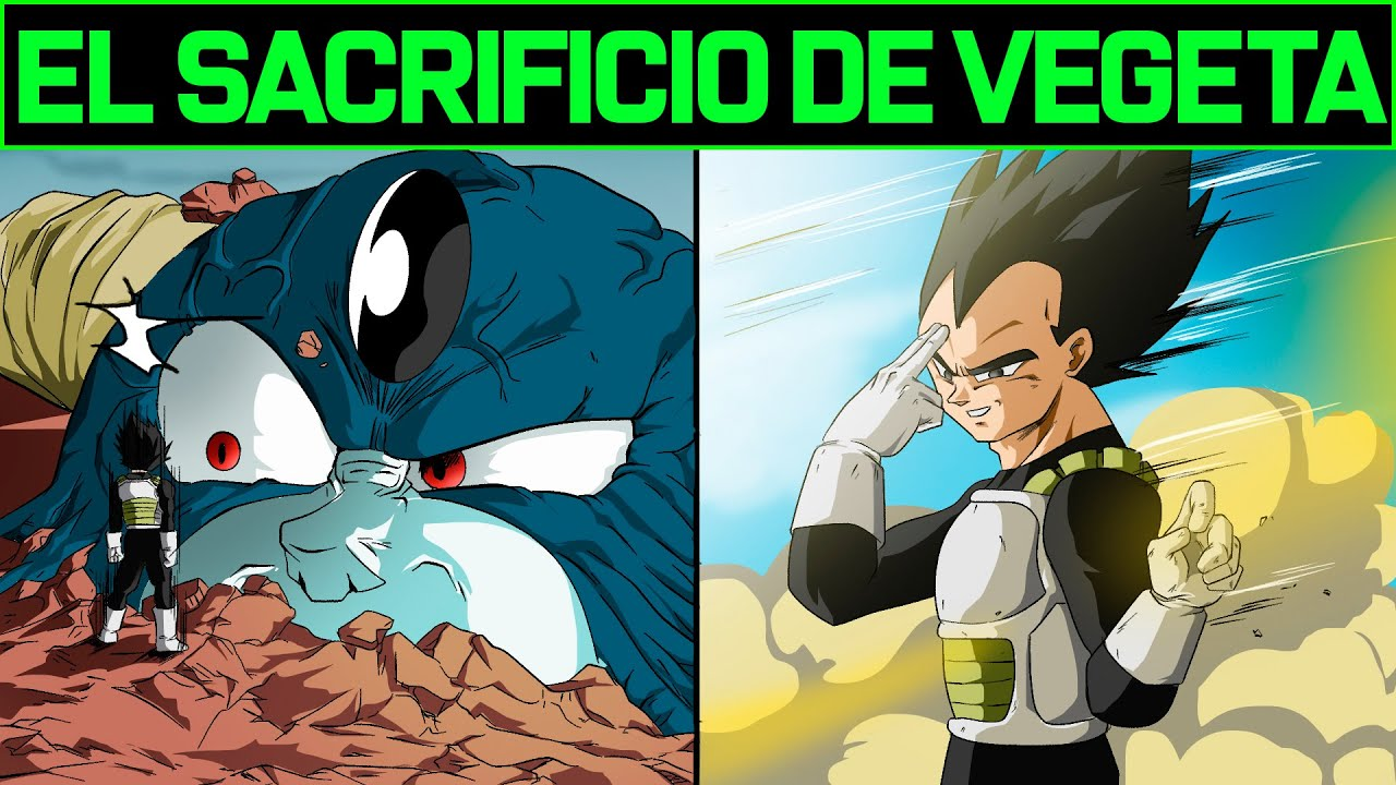 EL SACRIFICIO DE VEGETA - FAN MANGA  DRAGON BALL SUPER MANGA 66