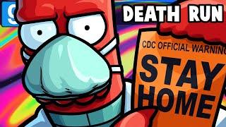 Gmod Death Run Funny Moments - Grocery Store Quarantine Escape!
