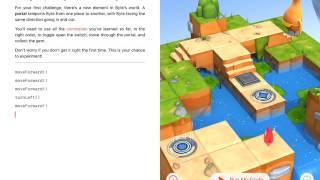 Урок Portal Practice | Портальная Практика Swift Playgrounds на русском