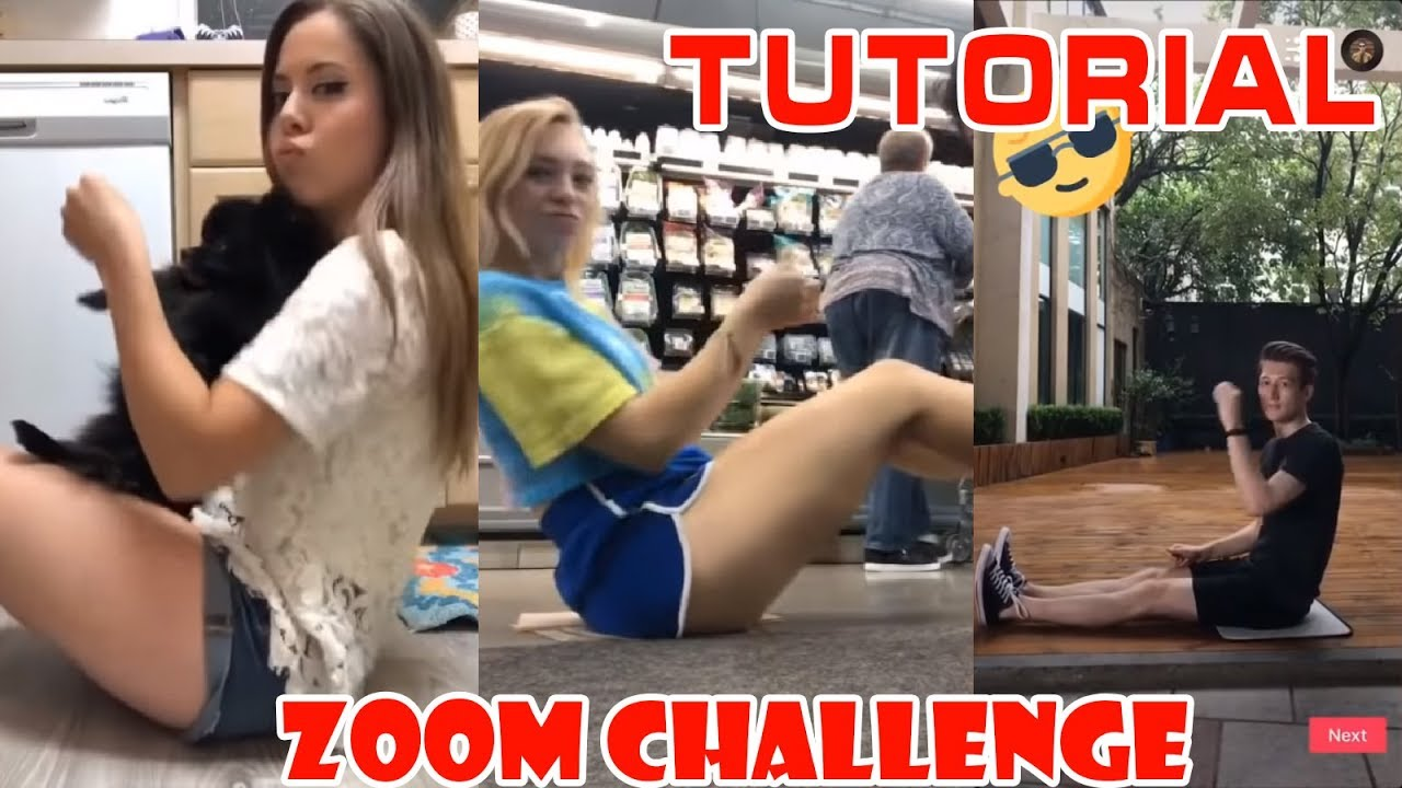 Zoom Challenge Tutorial How To Do The Zoomchallenge Funny Musically Tik Tok 2018 Youtube