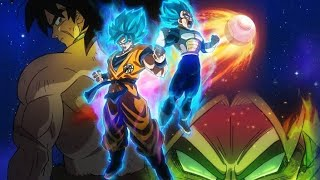 Cover images Dragon Ball Super : Broly Theme Song : Blizzard - Daichi Miura