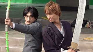 吉沢亮「リアクション難しかった」/福士蒼汰との共闘シーン『BLEACH』メイキング映像