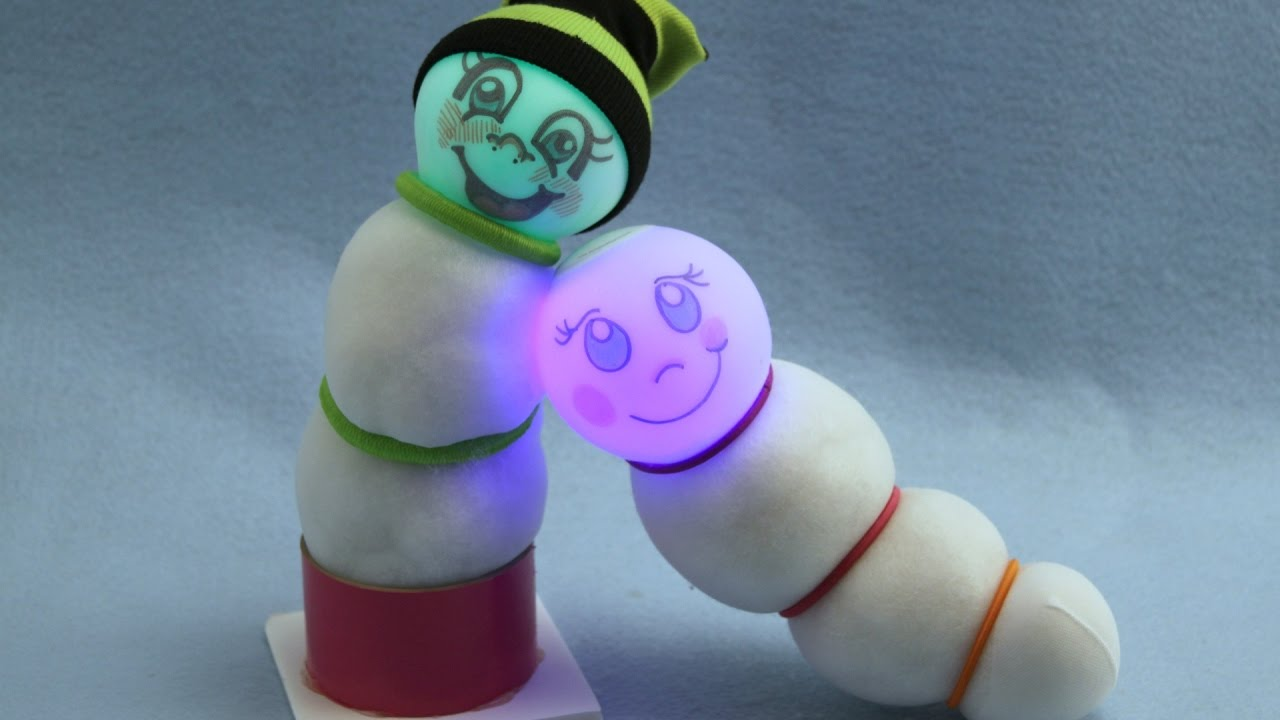 How to Make a Glow Worm Night Light | Sophie\'s World - YouTube