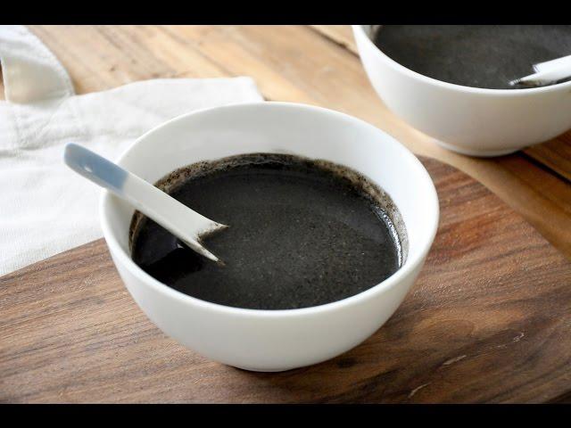 Black Sesame Sweet Soup ????? ??????Freesiaa Made ?72?